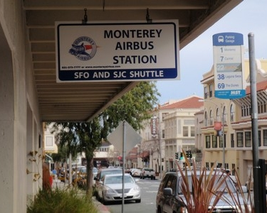 Monterey Airbus Sign